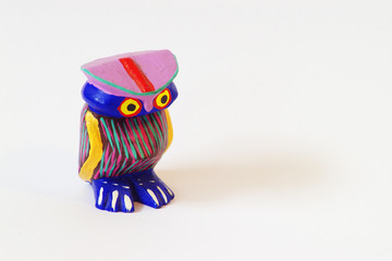 colorful owl oaxaca