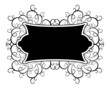 decorative gothic banner