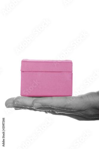 pink present