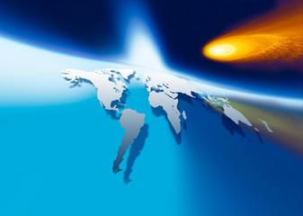 fireball, danger for the world 2