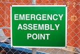 emergency sign poster