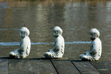 the three buddha's