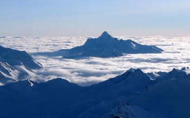 eternity. ocean of clouds.