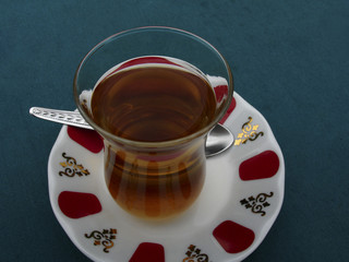 a cup of turkish tes