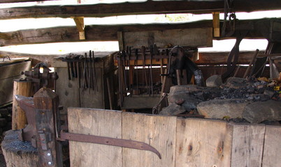 blacksmith's tools