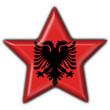 bottone stella albanese - albania star flag