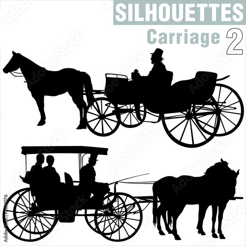 silhouettes carriage 2