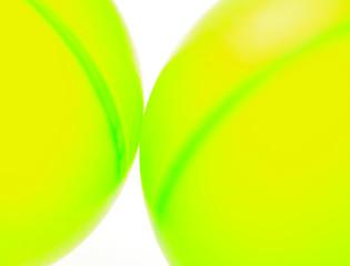 two green balls