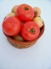 vegetable and fruit basket
