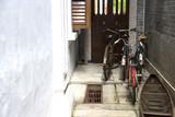 vintage bicycles and sampan poster