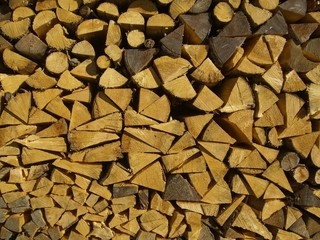 pile of wood, holzstoss