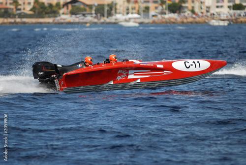 Papiers peints Nautique motorise bateau de course