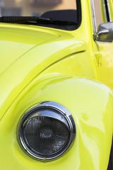 front of volgswagen beetle