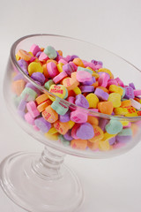 conversation hearts glass compote 3