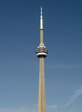 cn tower vertical