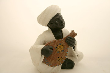 nubian oud player