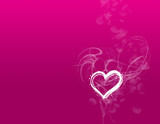 Fototapety valentine's day card background  wallpaper poster