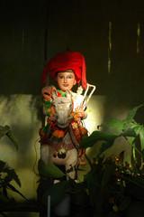 myanmar, bagan: animism statue (nat)