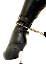cuffs and boot