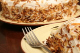 toasted coconut cake poster