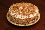 toasted coconut cake upclose poster