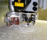 engraving machine poster