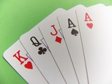 poker - one pair poster