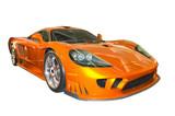 Fototapeta samochodów - wyścig - Samochód