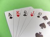 poker - straight poster