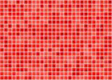 Fototapety fliesen rot tile red