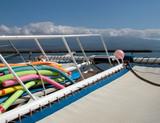 recreational catamaran poster