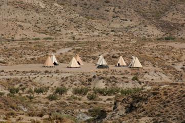 indian american teepee village