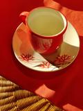 red mug poster