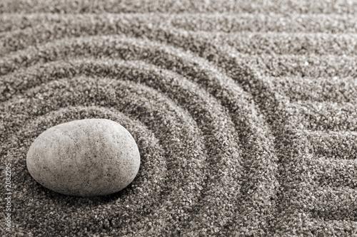 Leinwanddruck Bild zen garden