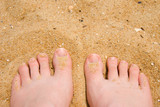 sand between my toes poster