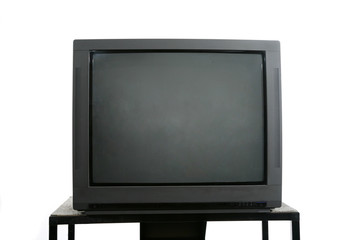 television monitor on stand