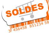soldes code barre poster
