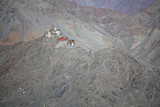 le gompa - buddhistic monastery in the himalayas poster