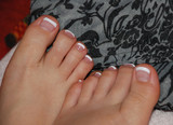 painted toes poster