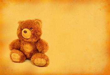 retro teddy bear