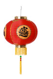 red paper chinese lantern