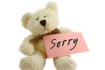 teddy - sorry