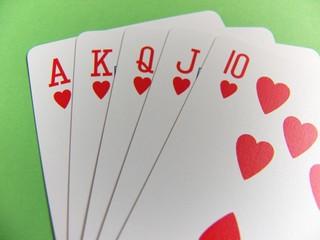 poker - royal flush