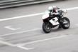 Leinwandbild Motiv superbike race