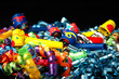 streamers and party blowers