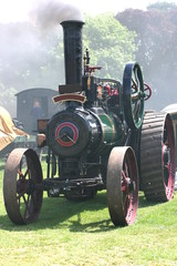traction steam engine