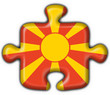 bottone puzzle macedone - macedonia button flag