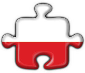 bottone puzzle polacco - poland button flag