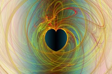 love fractal background2.