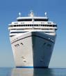 Leinwandbild Motiv cruise ship bow